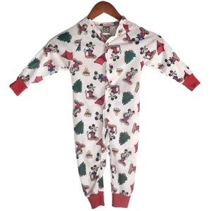 Disney Vintage Mickey Mouse Camping Toddler Onesie